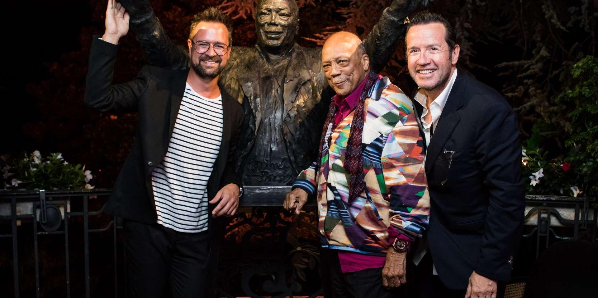 愛彼與音樂人Quincy Jones歡慶第53屆蒙特勒爵士音樂節( Montreux Jazz Festival )閉幕之夜