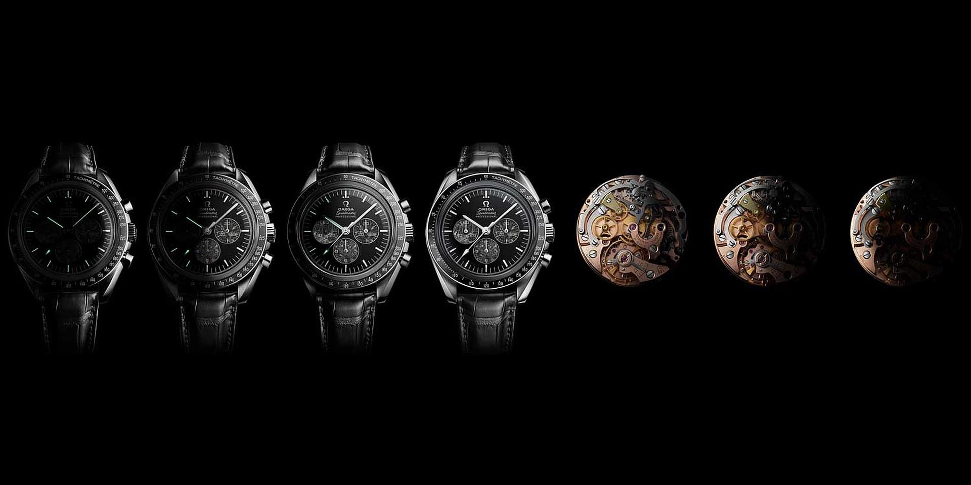 登月傳奇再續,歐米茄復刻推出超霸登月錶321機芯鉑金版