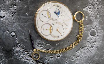 20世紀最偉大製錶大師George Daniels致敬登月探險之作——為火星旅行而設計的Space Traveller懷錶創下獨立品牌及英國製鐘錶拍賣雙紀錄