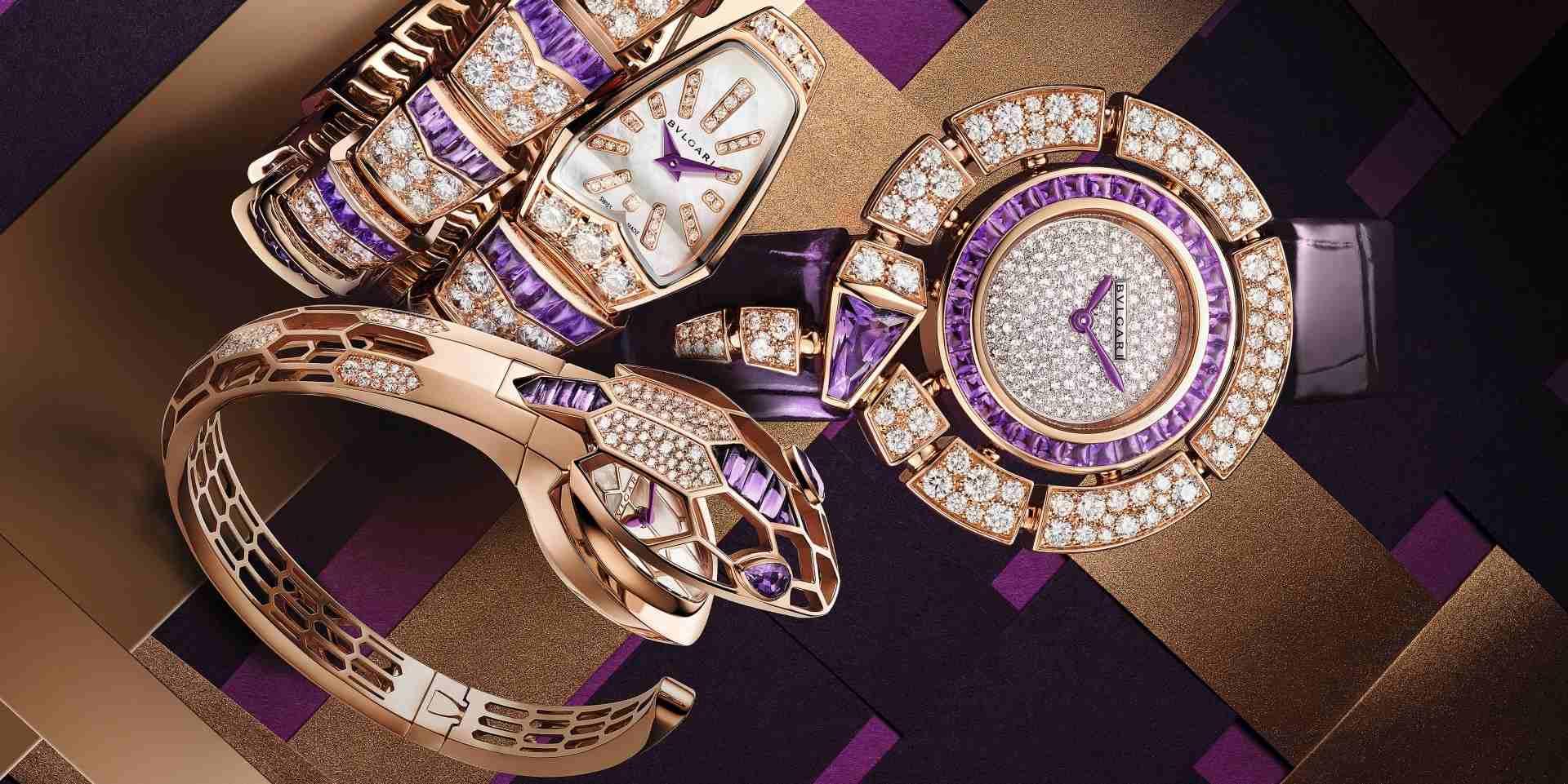 寶格麗Serpenti紫水晶腕錶 貴氣魅惑愛侶心