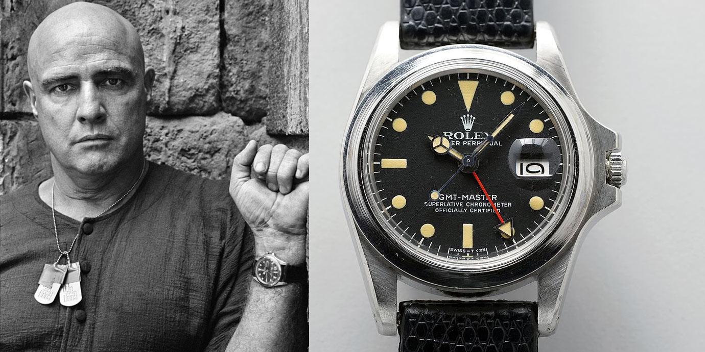 是否再創拍賣紀錄?馬龍白蘭度與他的Rolex GMT-Master