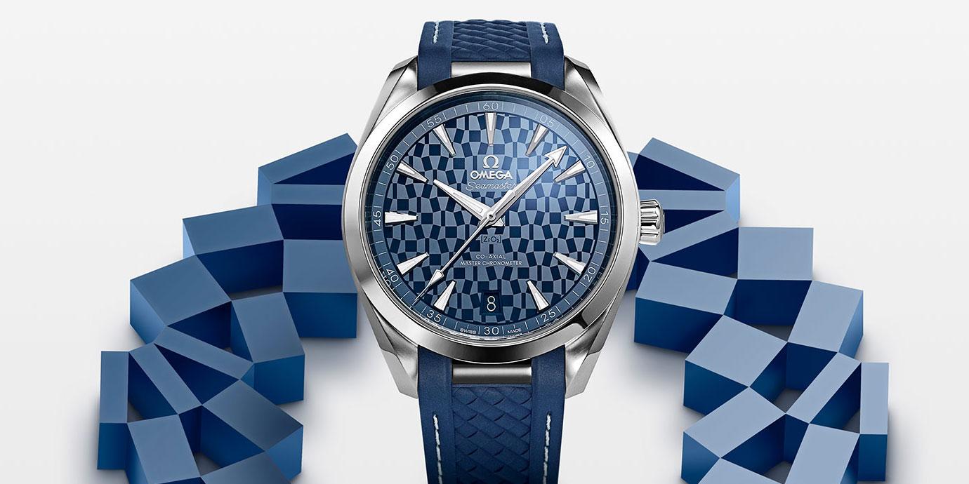 倒數一年:Omega推出2020東京奧運會限量版腕錶