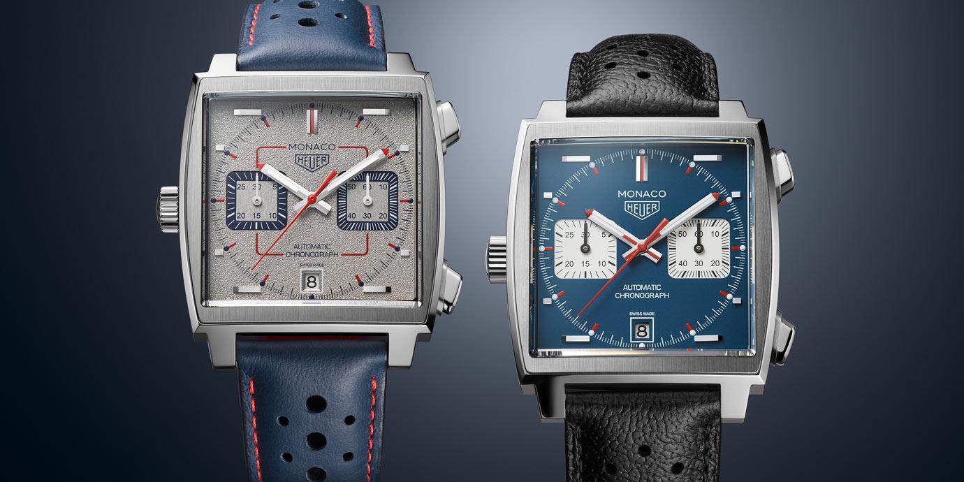 50週年紀念款第三波登場:TAG Heuer Monaco 1989–1999限量典藏版腕錶