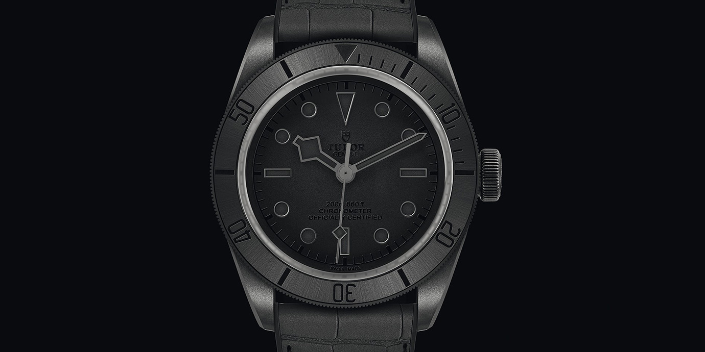 全黑的誘惑:Tudor Black Bay Ceramic One「Only Watch」特別版