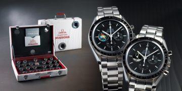 見證人類太空探險史:歐米茄超霸太空任務徽章套錶