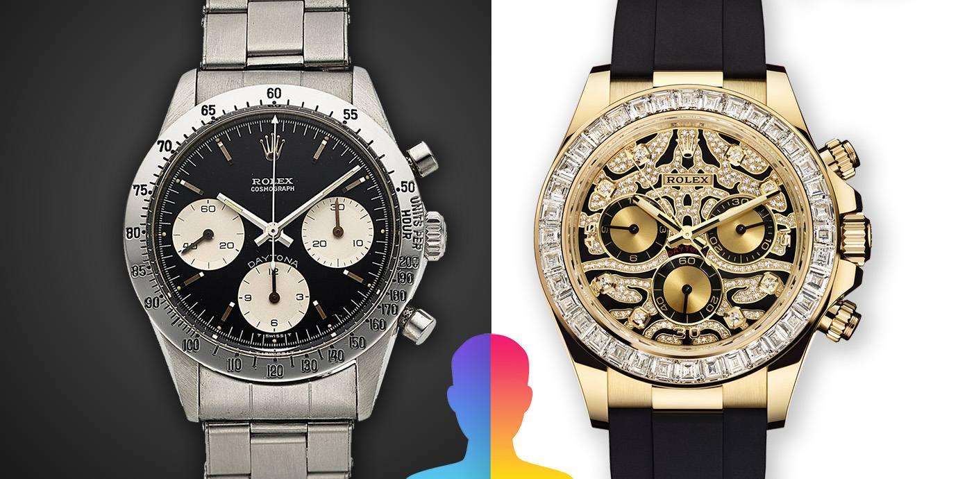 【錶語時事】透過FaceApp的魔力:看看經典錶款「變老」的樣貌