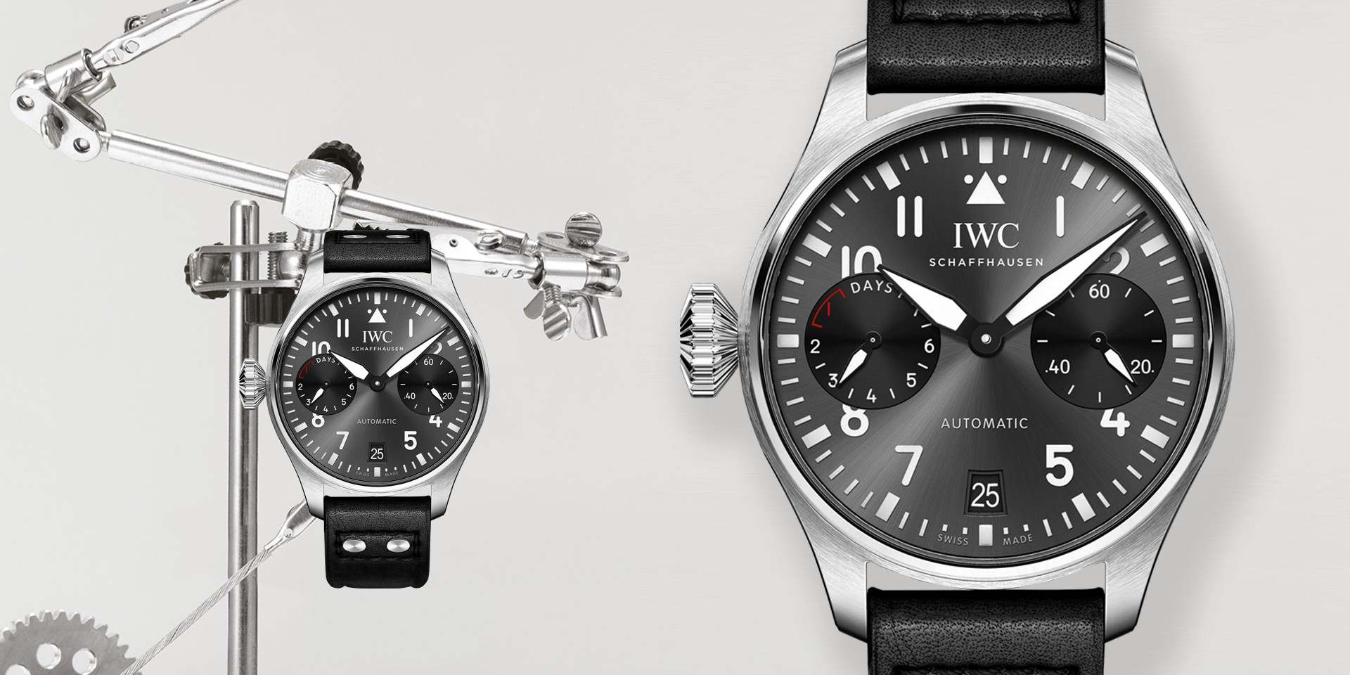 可愛的左派份子:IWC 第一只左冠錶——大型飛行員腕錶「右腕」特別版