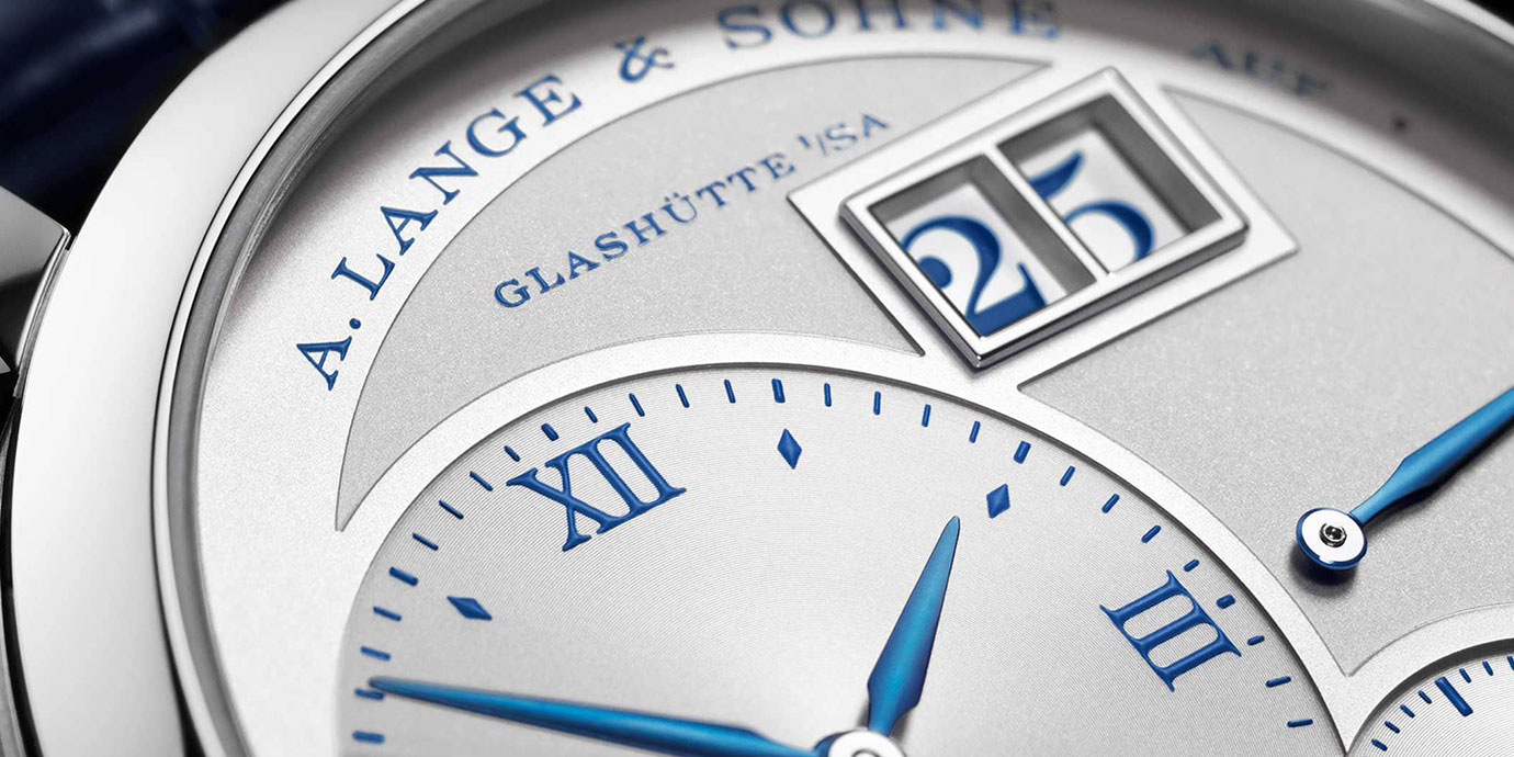慶祝Lange 1誕生25週年:朗格陸續推出10款紀念款腕錶