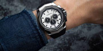 簡約新奢華運動:崑崙海軍上將Admiral AC-ONE 45三眼計時腕錶
