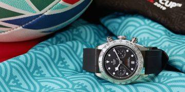 精準動力與可靠品質的象徵:帝舵表成為2019年橄欖球世界盃大會指定時計