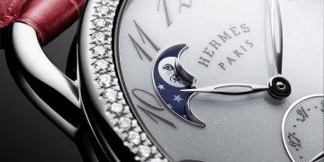 今年中秋,來點趣味的小淘氣吧:愛馬仕Arceau Petite Lune小月相腕錶