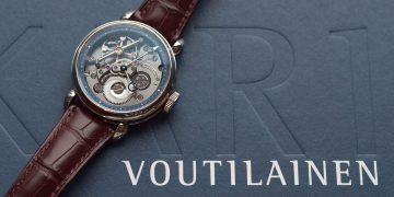 獨立製錶大師親自來台分享:Kari Voutilainen 2019矚目新品