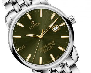 TITONI瑞士梅花錶創立百周年,隆重推出Master Series 83188 S-1919Y限量款天文台認證旗艦錶
