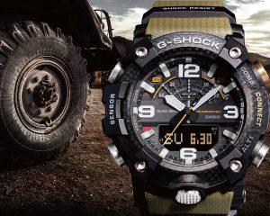 G-SHOCK Mudmaster泥人錶再進化,創新碳纖維材質GG-B100搭載全新四重感應器與智慧藍牙