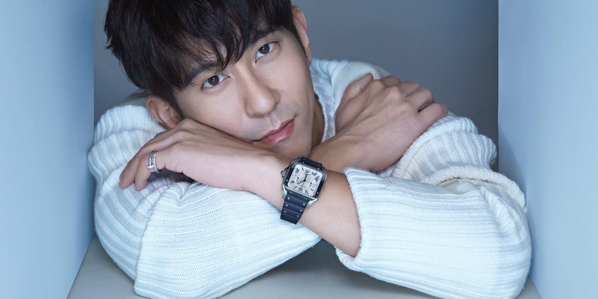 成功男人的無限種可能,都有一款卡地亞Santos腕錶得以描繪