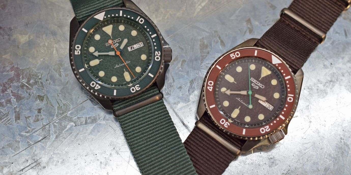 自己的風格自己定!全新Seiko 5 Sports腕錶