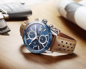 承襲賽車DNA,翻玩現代設計細節:TAG Heuer泰格豪雅推出全新Carrera Calibre 16 腕錶