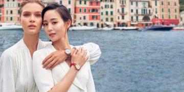 請鈞入鏡:IWC全新柏濤菲諾廣告由張鈞甯及超模約瑟芬.斯可瑞娃共同演繹