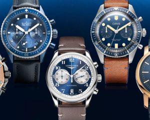 藍色控照過來:精選Bucherer Blue特別版腕錶