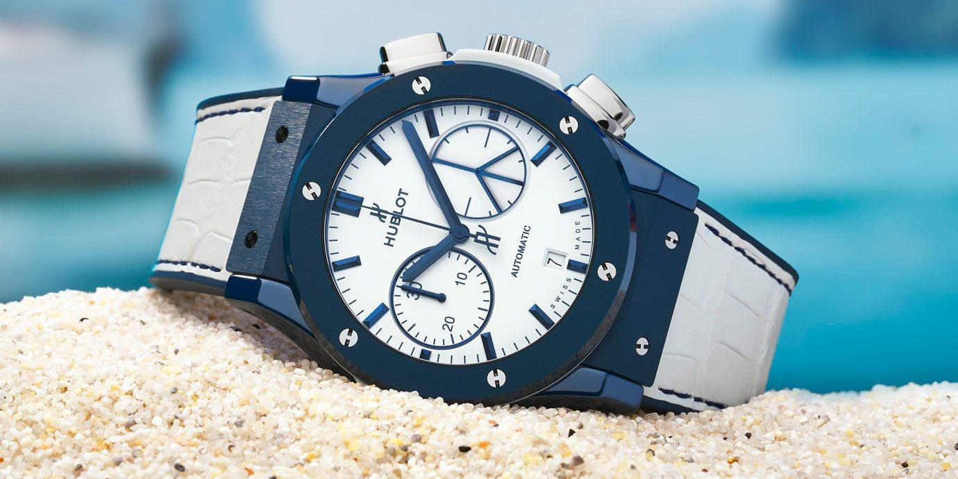明星度假小島快閃店開幕:Hublot推出Classic Fusion Ibiza計時碼錶