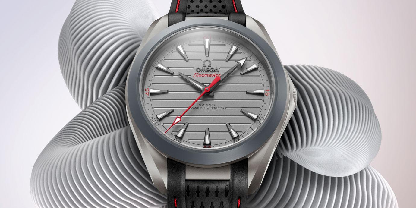 史上最「輕」海馬誕生:歐米茄Aqua Terra Ultra Light腕錶