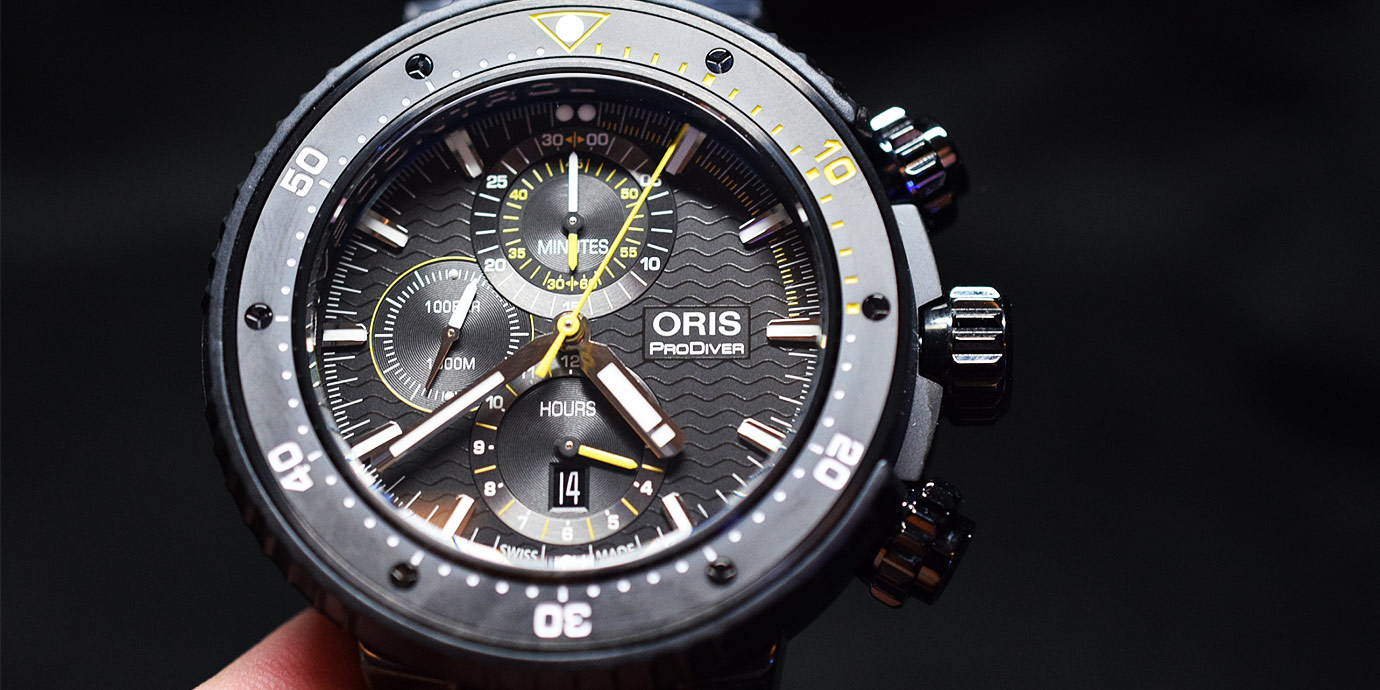 【每週一錶】深海猛獸:Oris ProDiver Dive Control潛水錶