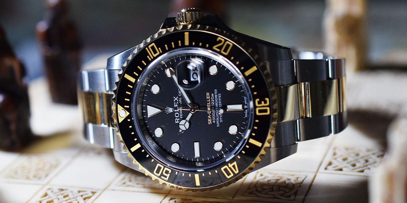 半金的魅力:Rolex Sea-Dweller Ref.126603