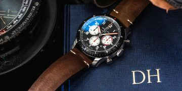 蚊式轟炸機再度經典升空:百年靈 Aviator 8 Mosquito航空計時腕錶