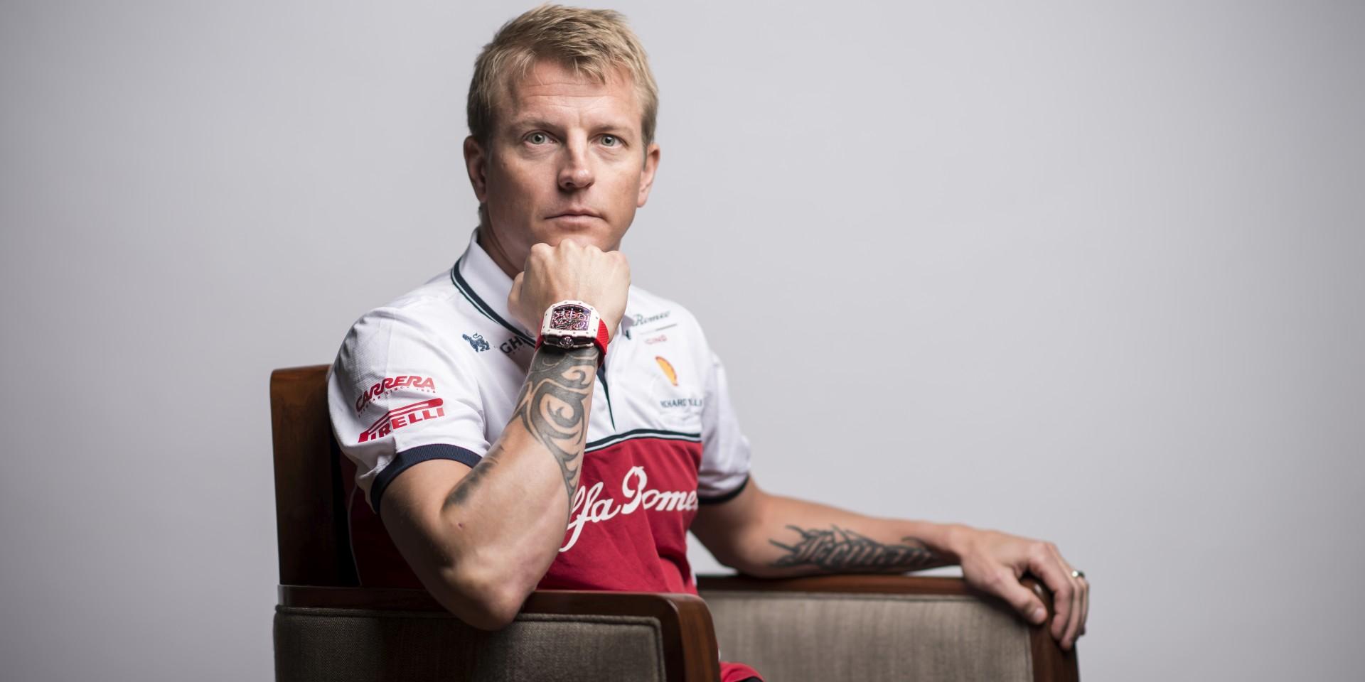 RICHARD MILLE 攜手F1世界冠軍「冰人」雷克南,呈獻RM 50-04 Kimi Räikkönen雙秒追針陀飛輪計時碼錶