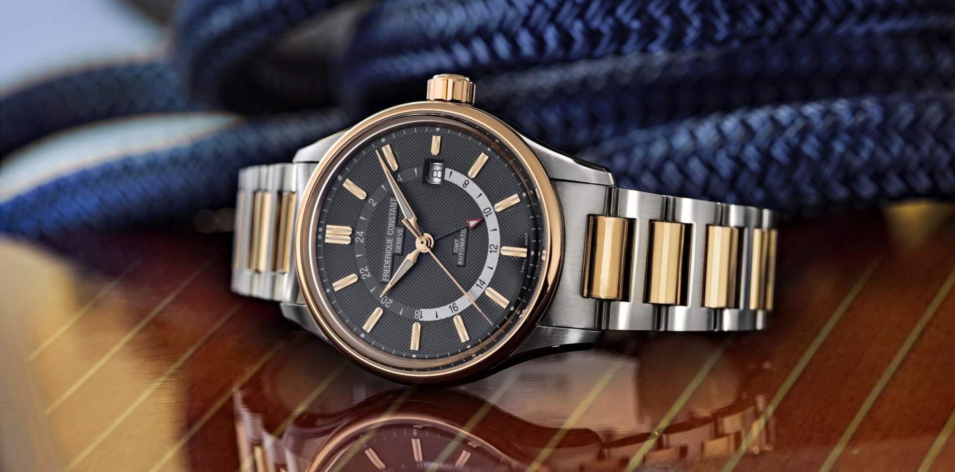 揚帆航向遠方異域:Frederique Constant推出首款Yacht Timer GMT兩地時間系列腕錶