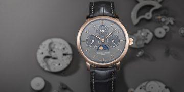 複雜的低調美:Frederique Constant推出兩款全新 Slimline Perpetual Calendar Manufacture腕錶