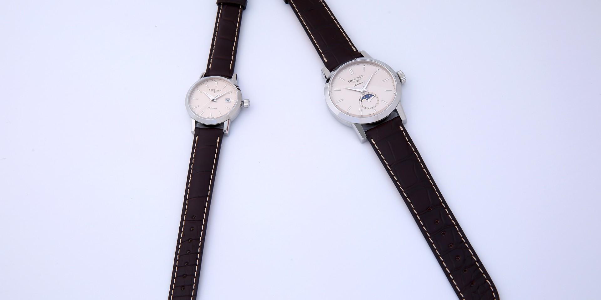 祝賀優雅代言人林志玲新婚,Longines浪琴表獻上全新1832系列對錶