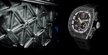鬧鈴腕錶的極致奢華新境界:RICAHRD MILLE RM 62-01 ACJ 陀飛輪振動鬧鈴錶
