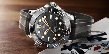 007迷們照過來:Omega推出海馬潛水300米詹姆士.龐德限量版腕錶