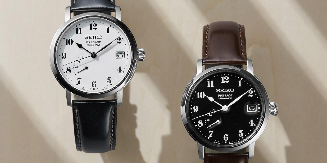 向設計大師渡邊力致敬:Seiko Presage全新琺瑯腕錶