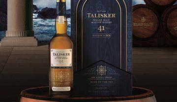 揭開斯凱島狂野不羈的靈魂:Talisker泰斯卡 Bodega酒窖系列第貳章 41年單一麥芽威士忌原酒