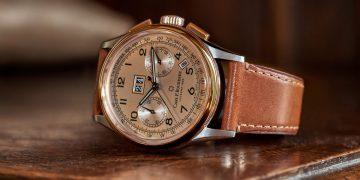 蘊含復刻典雅品味:寶齊萊Heritage BiCompax Annual年曆雙盤計時碼錶
