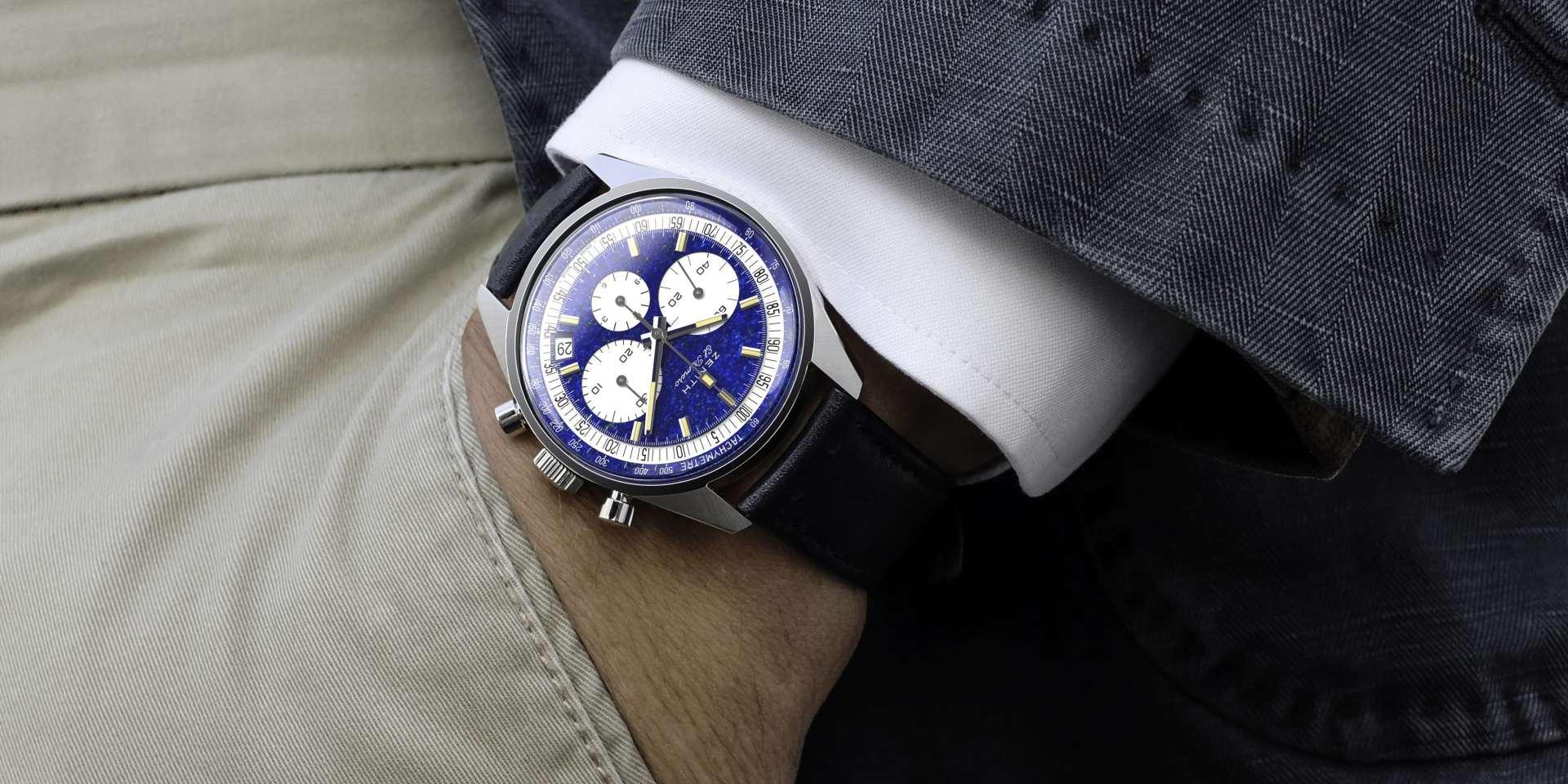 ZENITH 真力時打造獨一無二款的鉑金El Primero計時碼錶A386,拍賣襄助Zoe4Life公益組織