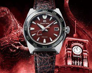 怪獸之王現身!Grand Seiko Spring Drive哥吉拉65週年限量腕錶