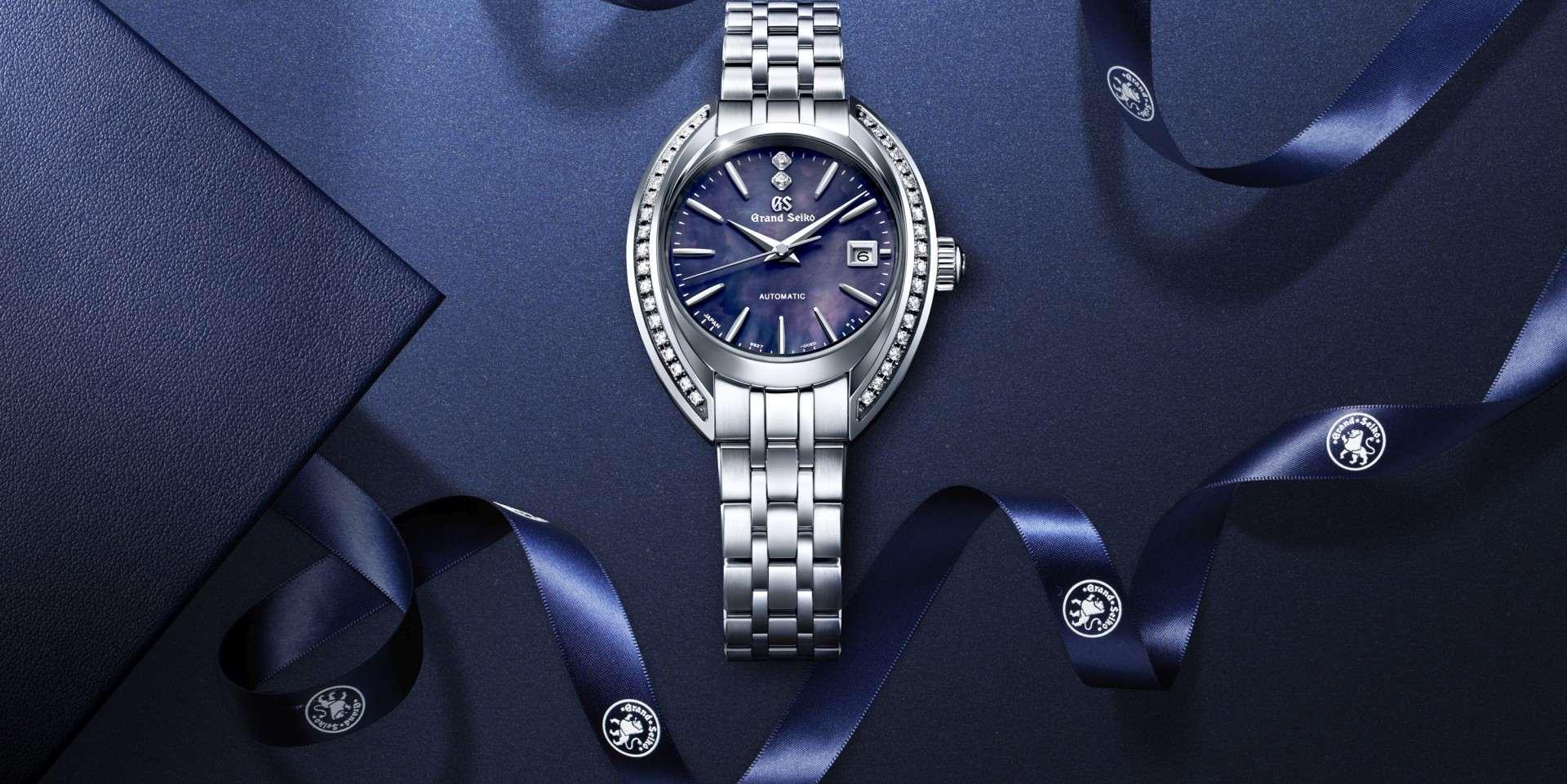 全新的優雅風貌: Grand Seiko Elegance Collection 秋冬新款女錶STGK011與STGK013