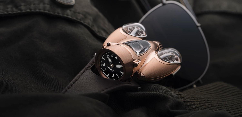 時間似風一般流動:MB&F HM N°9 FLOW玫瑰金限量版腕錶