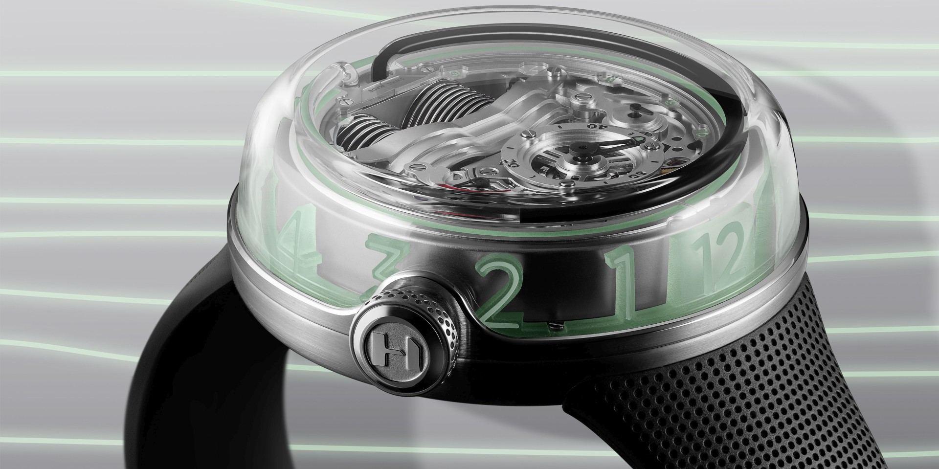立體通透,超人意料:鮮活靈動的HYT H5腕錶