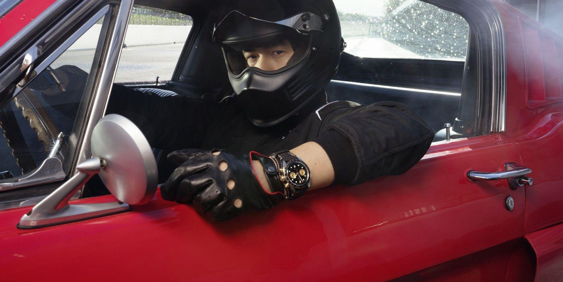 戴上你的帝舵Black Bay Chrono S&G,與周杰倫一起急速飄移、穿越時空
