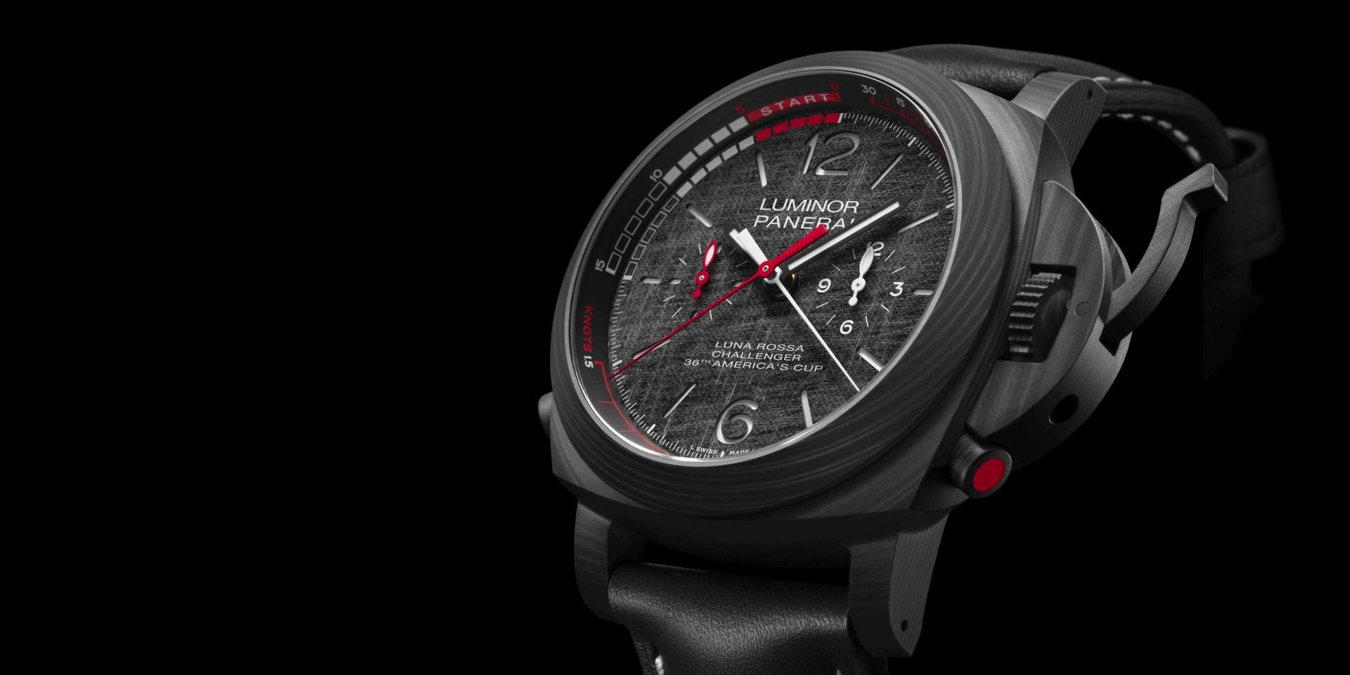 個性鮮明獨特:沛納海發表Luminor Luna Rossa系列GMT、Chrono Flyabck及Regatta等三款全新腕錶