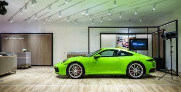 全球首座Porsche NOW全新型態概念店即刻進駐信義時尚地標