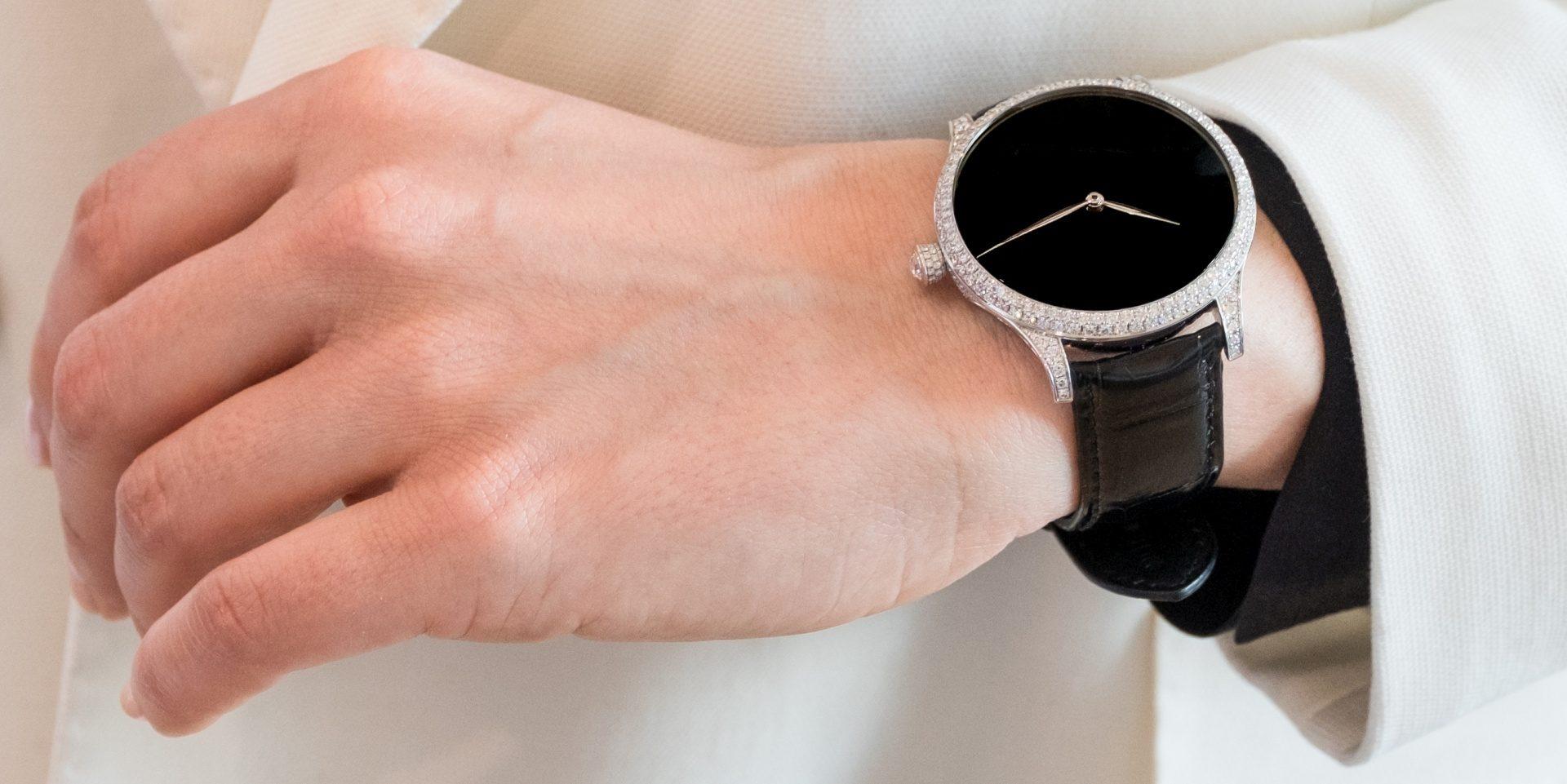 神秘天文材質:亨利慕時冒險者Venturer Concept Vantablack Diamonds鑲鑽概念腕錶
