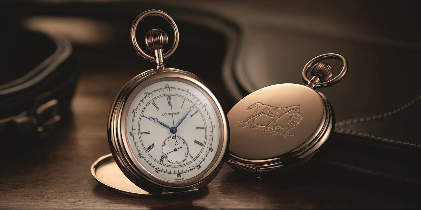 古色古香的馬術世界:Longines推出限量版馬術懷錶