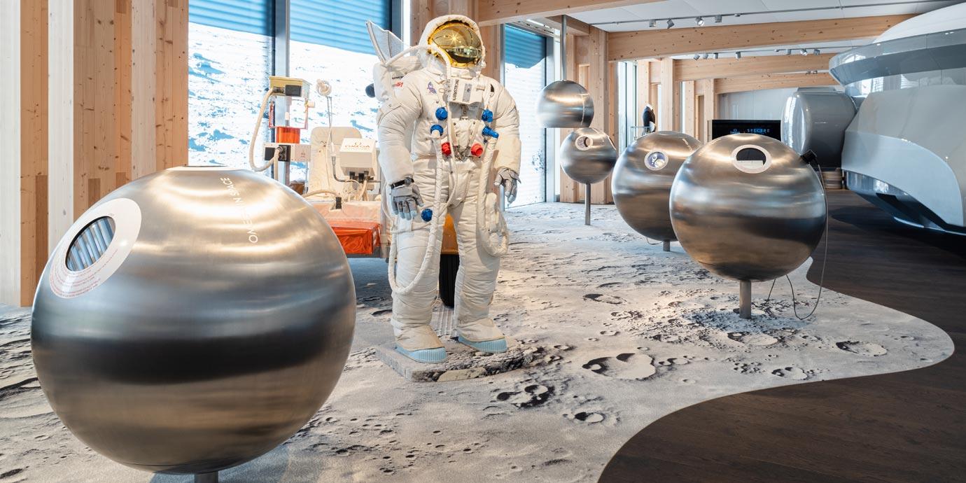 多樣互動體驗:Omega全新博物館