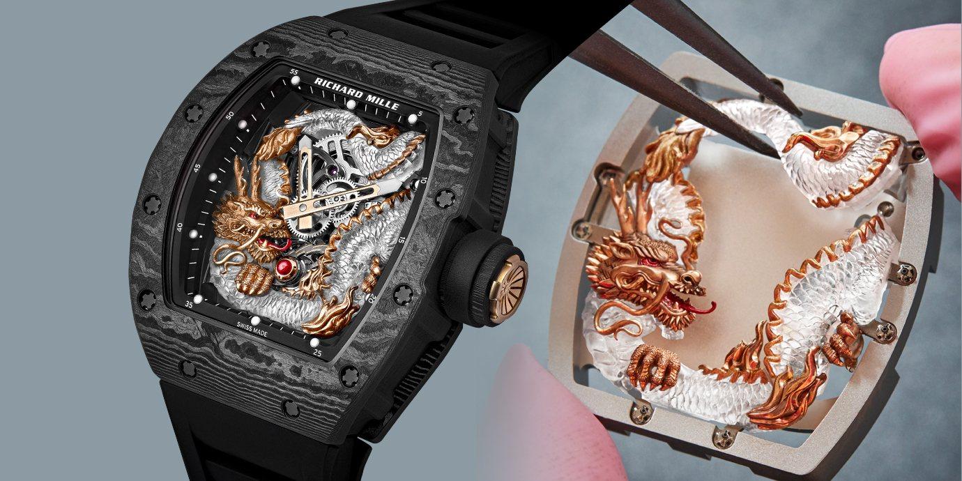 錶界最尊貴的龍:RICHARD MILLE RM 57-03 Tourbillon Sapphire Dragon