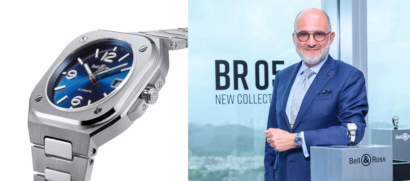 【腕錶人物】迎接全新系列的感動:專訪Bell & Ross共同創辦人與行政總裁Carlos Antonio Rosillo